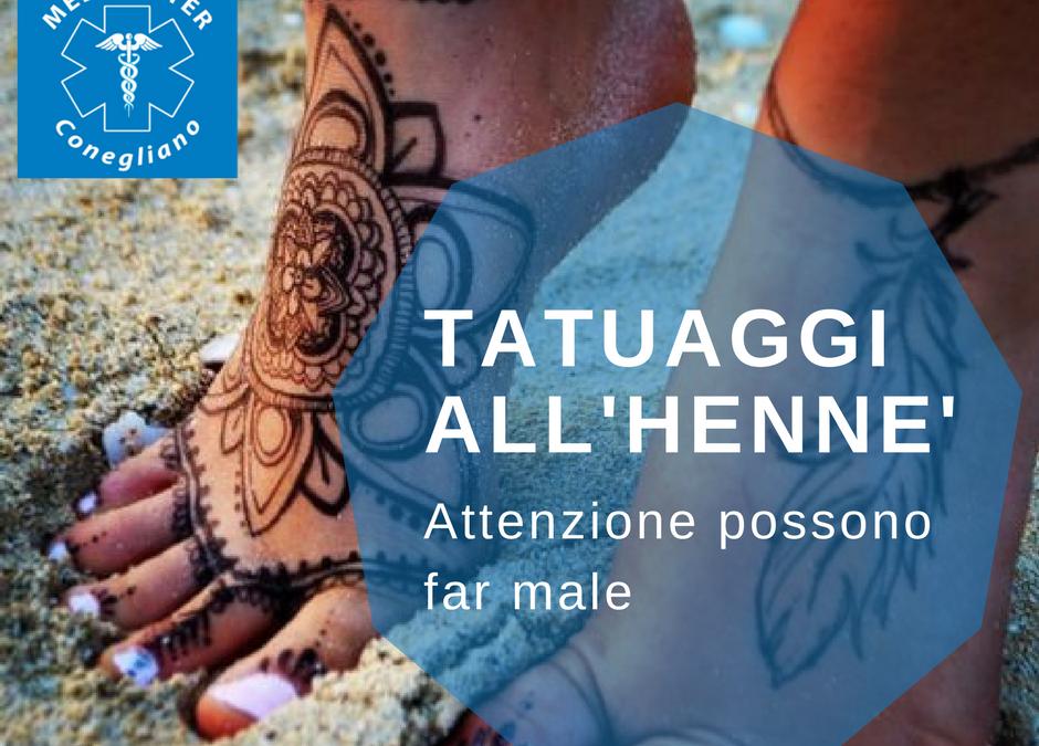 Tatuaggi estivi: tatuaggi all'hennè un pericolo per la pelle sottovalutato