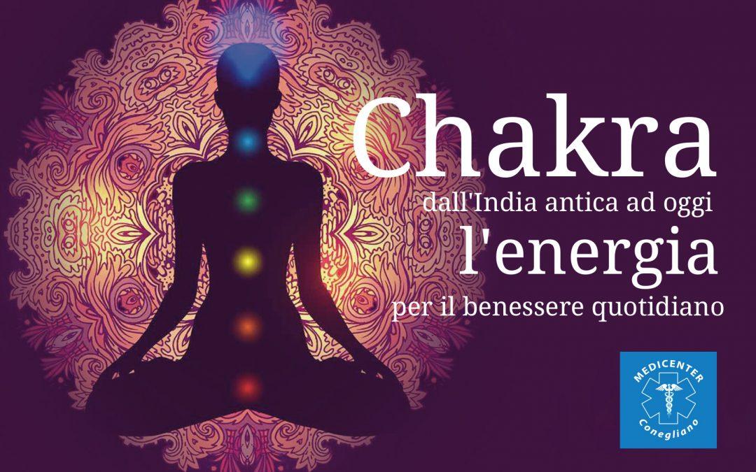 Chakra – Energia per il benessere quotidiano – da Maggio 2018